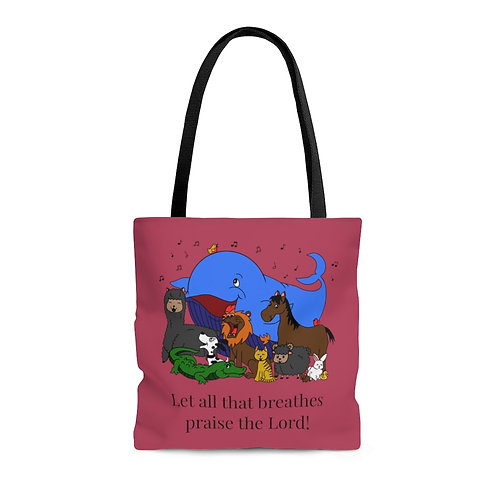 All That Breathes Tote Bag