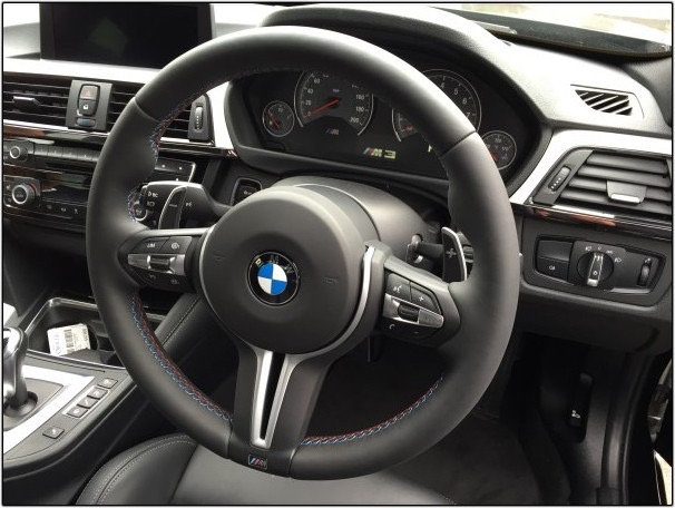 BMW F3x F8x Steering wheel
