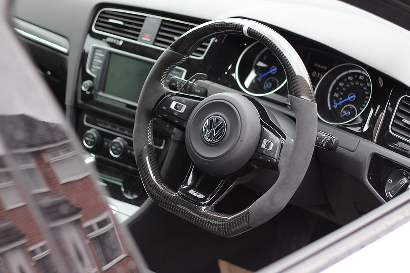 VW Golf 7R Steering Wheel