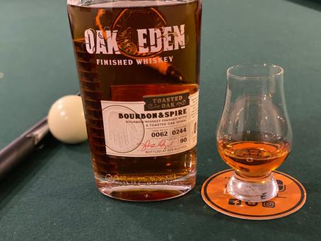 Bourbon Review: Oak & Eden Bourbon & Spire