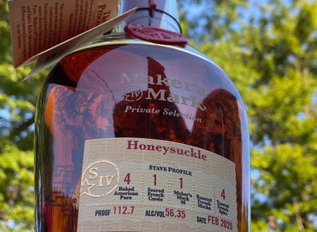 Bourbon Review: Maker's Mark OHLQ Private Select- Honeysuckle