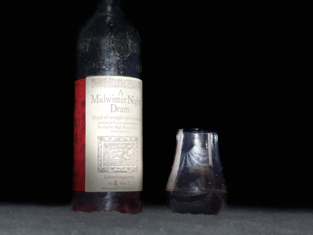 Whiskey Review: A Midwinter Night's Dram Act 8 Scene 4