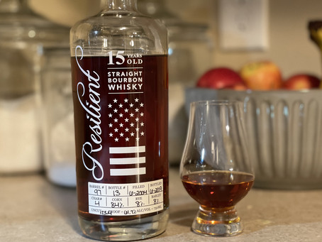 Bourbon Review: Resilient 15 Year (Barrel 97, Bottle 13)