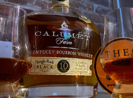 Bourbon Review: Calumet Farm Single Rack Black 10 year