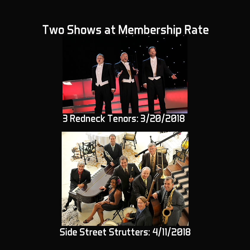 3 Redneck Tenors and Side Street Strutters