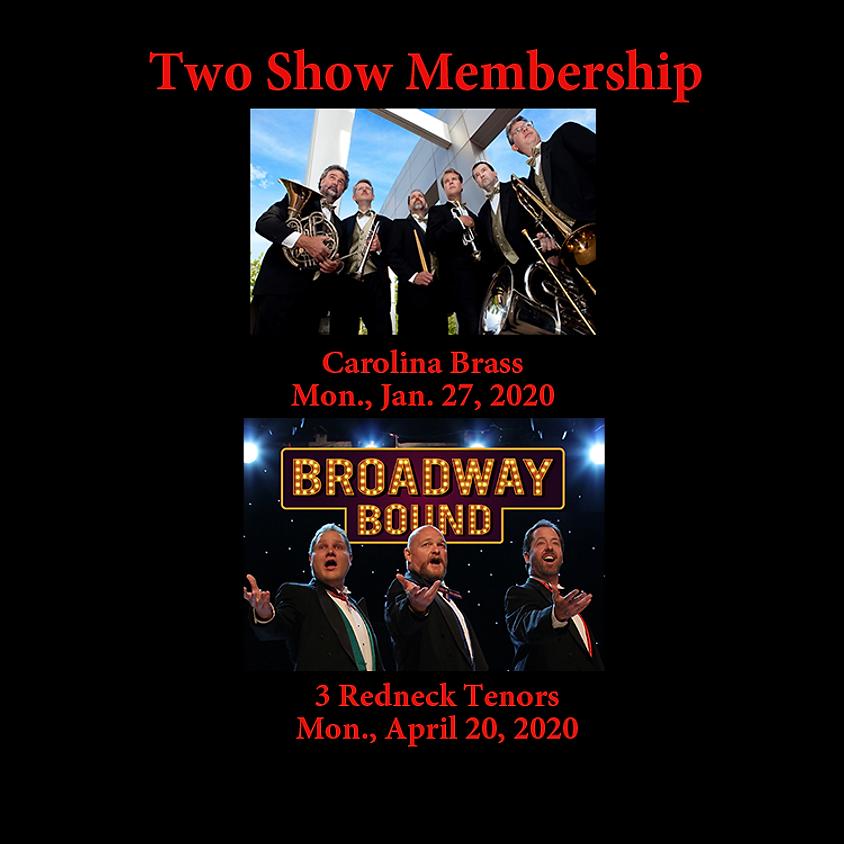 Two Shows: Carolina Brass, 3 Redneck Tenors