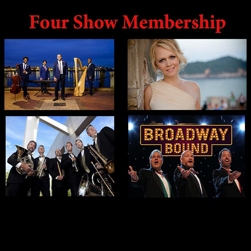 Four Shows: Sons of Serendip, Tajci, Carolina Brass, 3 Redneck Tenors (1)