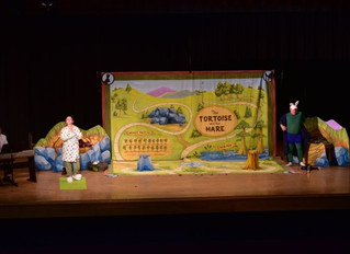 """""""Tortoise and the Hare"""" Opera for 3rd graders at Grover C. Fields Middle School"""