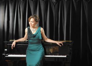 Alina Kiryayeva, renowned concert pianist, presents a master class at Havelock  High School auditori