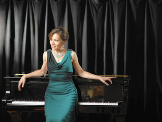 Alina Kiryayeva, renowned concert pianist, presents a master class at Havelock  High School auditori