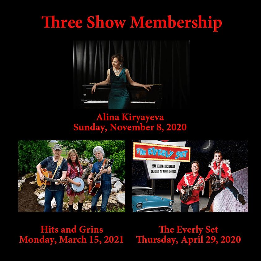 Three Show Membership