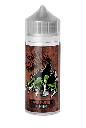 Vape Monster - Mutant mcalinden (Banoffee Pie) 100ml