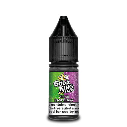 Soda King DUO Salts Apple & Raspberry