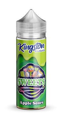 Kingston Sweets – Apple Sours – 120ml
