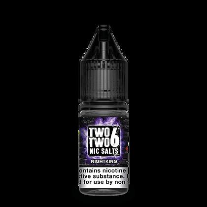 TWOTWO6 Nic Salts - Nightking