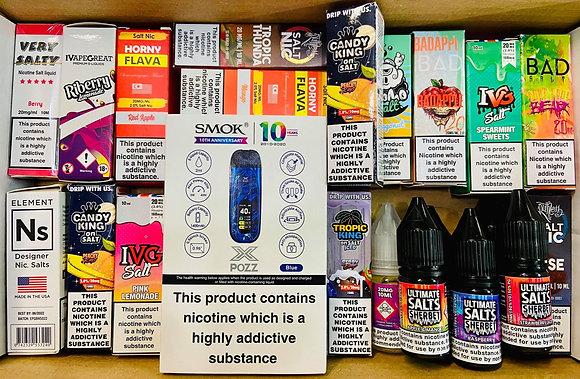 Mental Deal Salt 60 10mg or 20mg FREE Smok X pozz