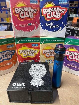 MENTAL DEAL Vape breakfast club FREE OWL KIT