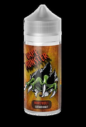 Vape Monster - WareWolf (Custard Donut) 100ml