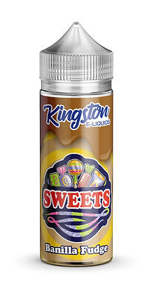 Kingston Sweets – Banilla Fudge – 120ml