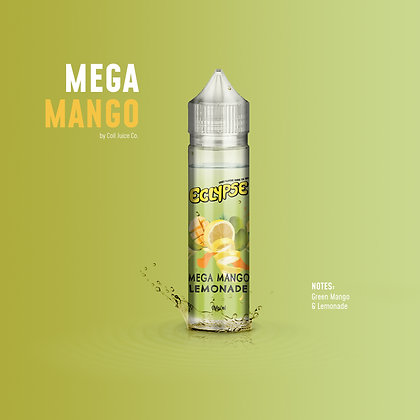 Eclypse 50ml 0mg Shortfill Mega Mango Lemonade