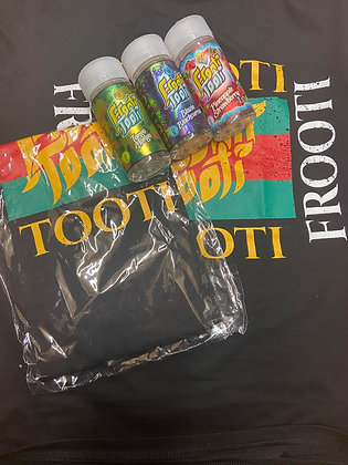 FROOTI TOOTI BUNDLE 600ML AND A FREE T SHIRT