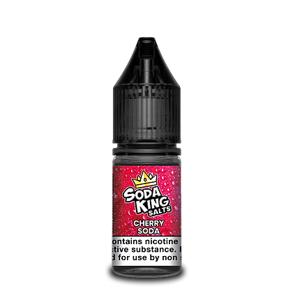 Soda King Salts Cherry Soda