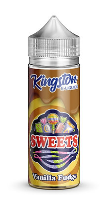 Kingston Sweets – Vanilla Fudge – 120ml