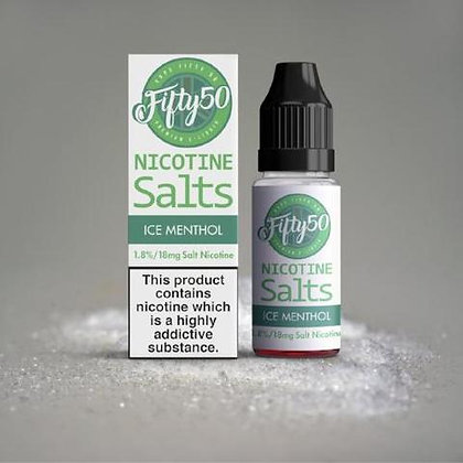 Ice Menthol Fifty 50 Nic Salt 10ML