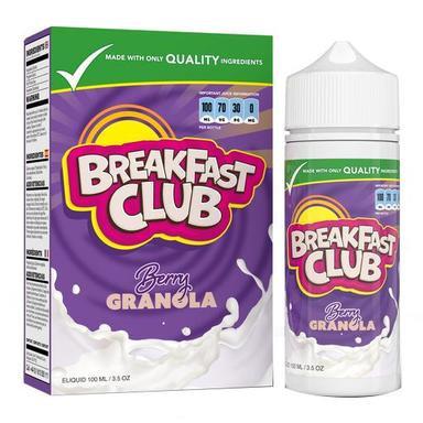 Breakfast Club – 100ml Berry Granola
