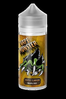 Vape Monster - Cryptic Clarkson (Pineapple Frost) 100ml