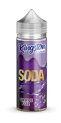 Kingston Soda – Grape Fizz – 120ml