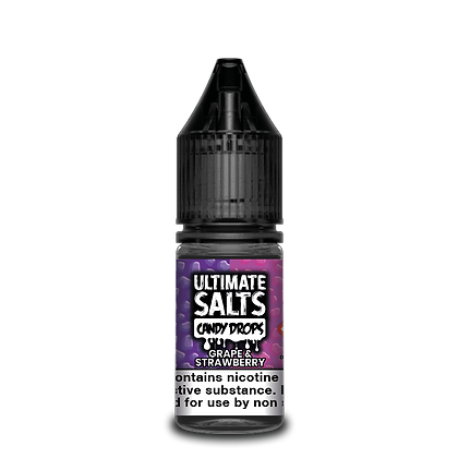 Ultimate Salts Candy Drops - Grape & Strawberry