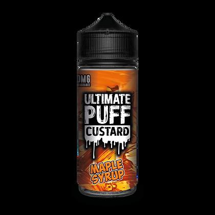 Ultimate Puff Custard - Maple Syrup
