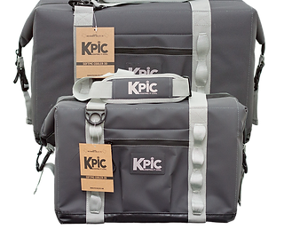 KPIC COOLER 30 QT BLUE