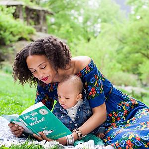 Helene Family in Central Park
