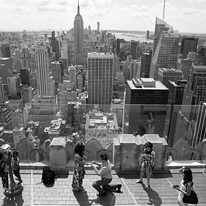 Valerie & Bryan#Top of The Rock#Proposal