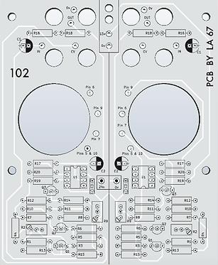 102 Dual Stereo Locator PCB