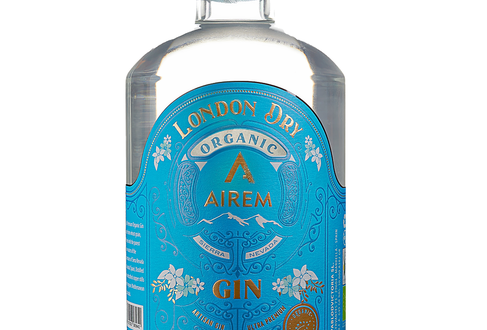Airem London Dry Gin Ecológico 70CL 40% Vol