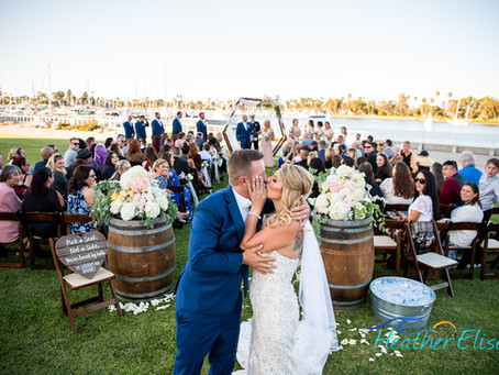 Coronado Community Center Wedding | San Diego Wedding Photographer