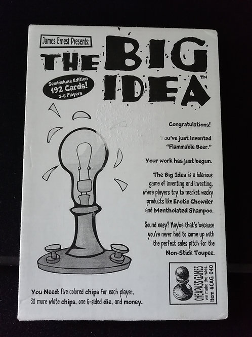 Cheapass Games: The Big Idea (Pre-owned)