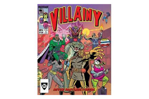 Villainy: Doom-Dealer Doers of Dastardly Deeds