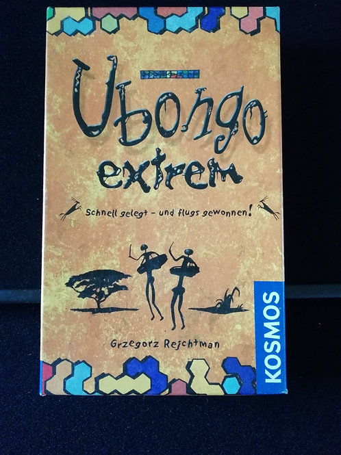 Ubongo Extreme in German (Pre-owned)