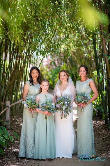 San Diego Botanic Gardens Wedding (180 o