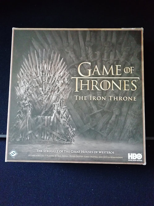 Game of Thrones The Iron Throne (Pre-owned)