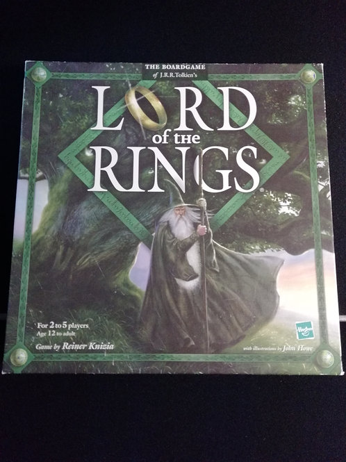 Lord of the Rings the Board Game (Un-Played)