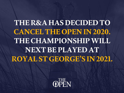 Sad news for Tiger and all the other grand slammers.