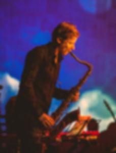 saksofoni muusika, tantsumuusika