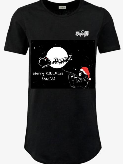 T - shirt - KILL THE IDOL meet Santa Claus