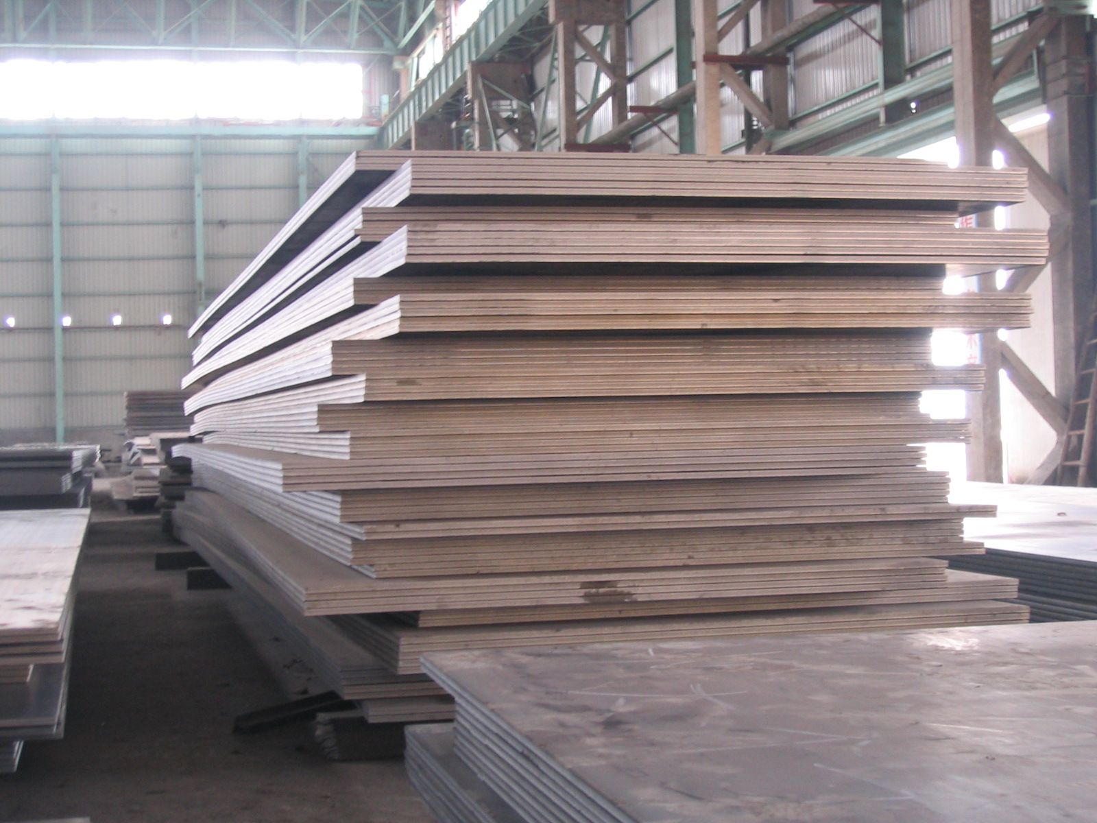 Heavy plates boiler quality
