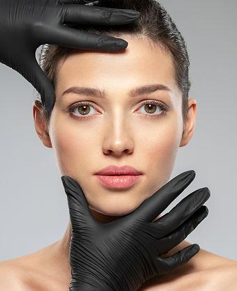 doctor-checks-a-skin-before-plastic-surg